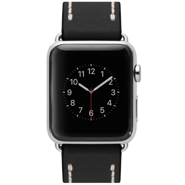 Ремешок Cozistyle Leather Band Apple Watch 42mm Black