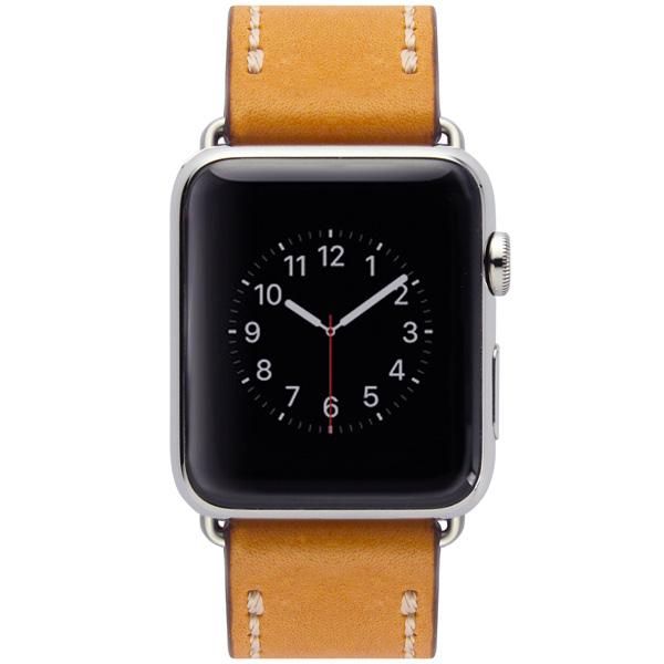 Ремешок Cozistyle Leather Band Apple Watch 42mm Light Brown