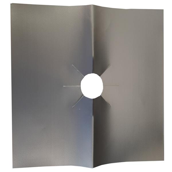 Аксессуар для плит Nostik 4шт Gas Range Protectors Silver