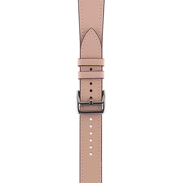 Ремешок InterStep STYLISH для Apple Watch 38mm&40mm, нат. кожа, свет