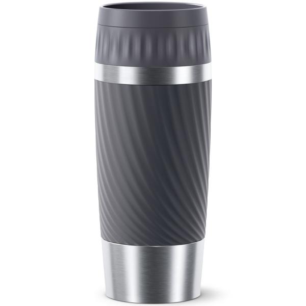 Купить Термокружка Emsa Travel Mug Easy Twist Graphite (N2011500) в каталоге интернет магазина М.Видео по выгодной цене с доставкой, отзывы, фотографии - Иваново