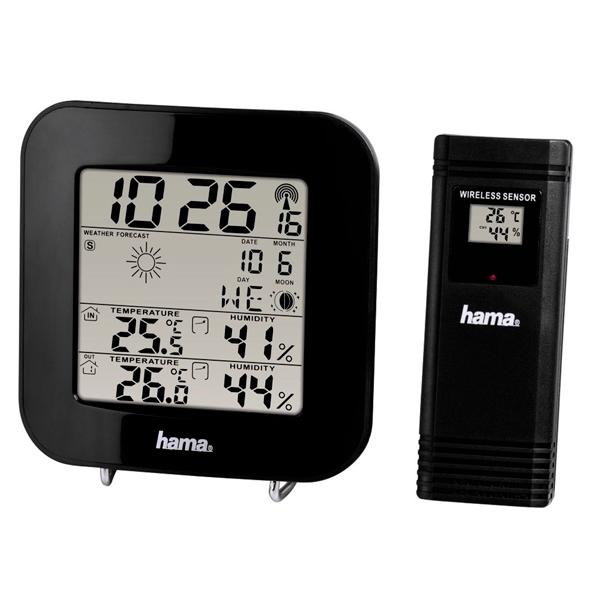 Метеостанция Hama EWS-200 синего цвета