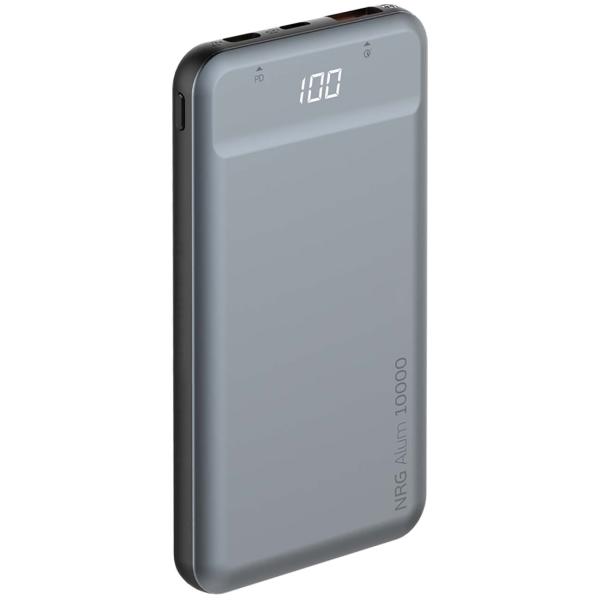 Внешний аккумулятор Deppa NRG Alum 10000mAh, Graphite (33557) фото