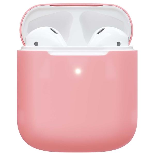 Чехол для AirPods Red Line 1,3 mm розовый фото