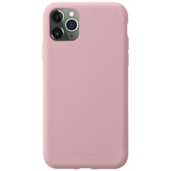 Чехол Cellular Line Sensation iPhone 11 Pro розовый (SENSATIONIPHXIP) розового цвета