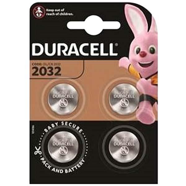 Батарея Duracell CR2032 4шт.