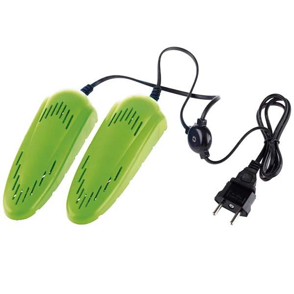 Сушилка для обуви Ergolux ELX-SD01-C16 салатовая (для детской обуви)