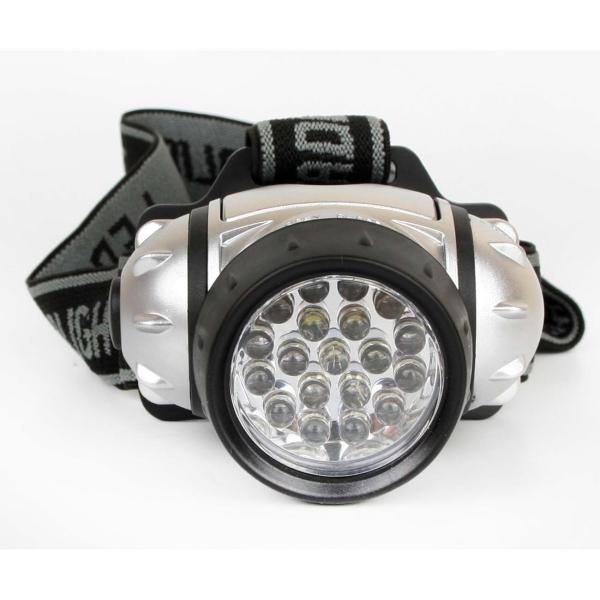 Фонарь бытовой Ultraflash LED5353 налобный металлик