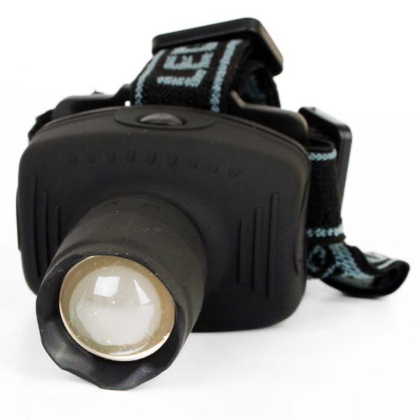 Фонарь бытовой Ultraflash LED5354 налобный серый