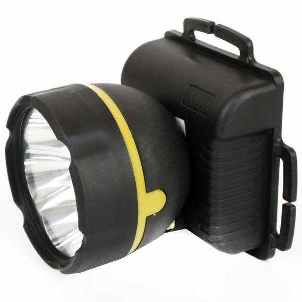 Фонарь бытовой Ultraflash 909LED5 налобный черный