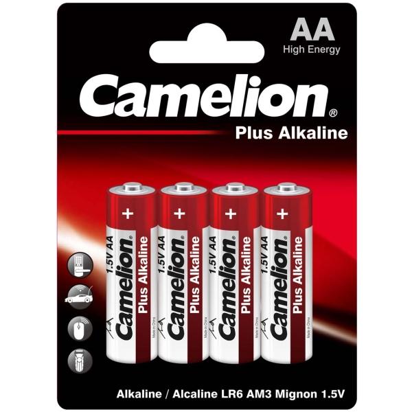 Батарея Camelion LR 6 Plus Alkaline BL-4