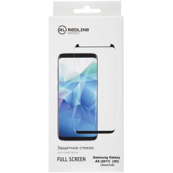 Защитное стекло для Samsung Red Line для Samsung Galaxy A5 (2017), FScreen(3D) TG Gold фото