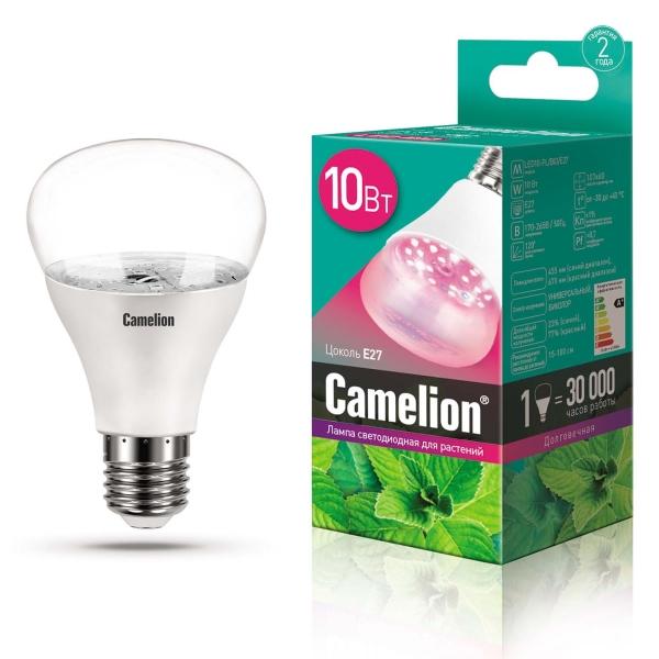 Лампа LED Camelion LED10-PL/BIO/E27