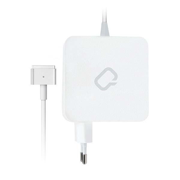 Сетевой адаптер для MacBook Qumo MagSafe 2 65W White (30024)