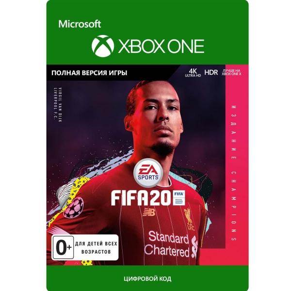 Цифровая версия игры Xbox EA FIFA 20 Champions Edition