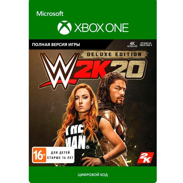 Цифровая версия игры Xbox Take-Two WWE 2K20: Digital Deluxe Take Two Цифровая версия игры Xbox Take-Two WWE 2K20: Digital Deluxe